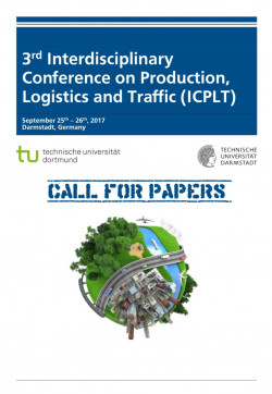 The 3rd Interdisciplinary Conference on Production, Logistics and Traffic (ICPLT)